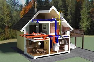 Топлотехника - топлинна, климатична и вентилационна